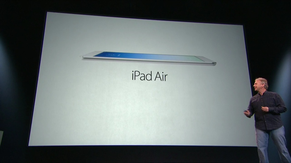 Phil Schiller iPad Air