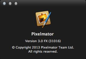 Pixelmator 3.0 FX