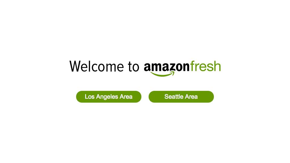 Amazon Fresh Seattle Los Angeles