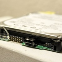 Built-In USB Interface on Western Digital Hard Drive