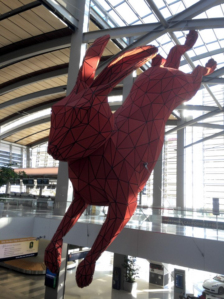 Polygon Rabbit Sacramento International Airport