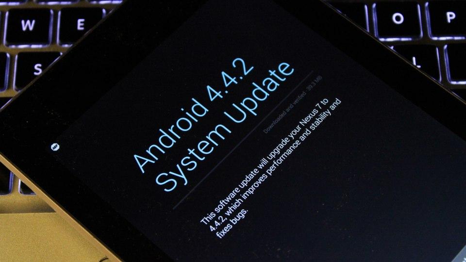 Android KitKat 4.2.2 on Nexus 7