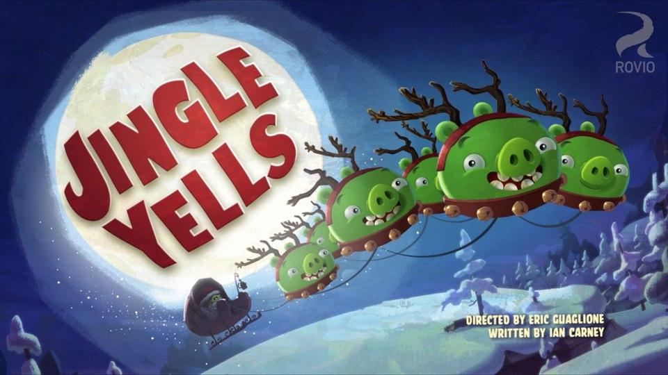 Angry Birds Toons Jingle Yells