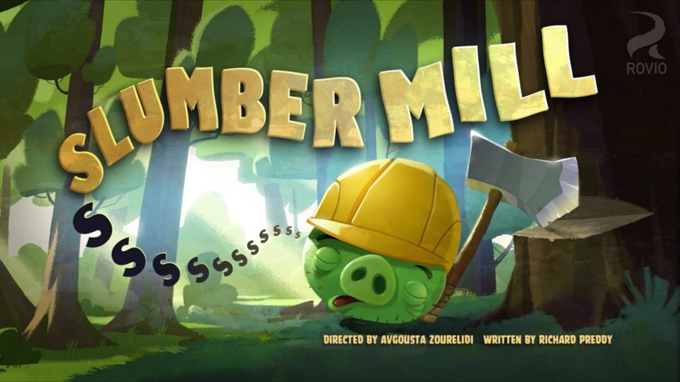 Angry Birds Toons Slumber Mill