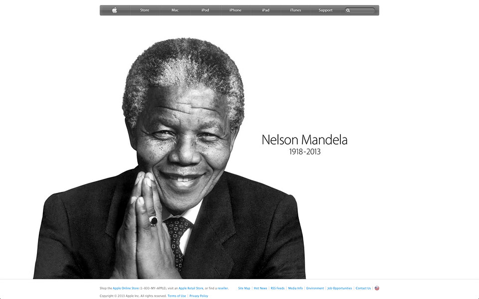 Apple-Pays-Tribute-to-Nelson-Mandela