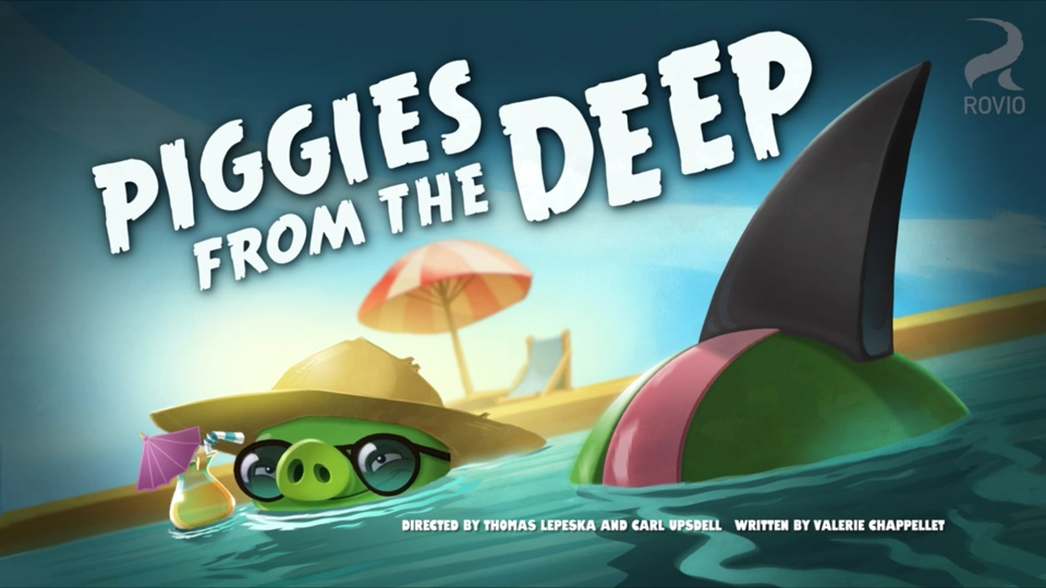 Angry Birds Toons Piggies From The Deep