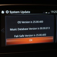 Mazda Connect Infotainment System Version 25.00.400