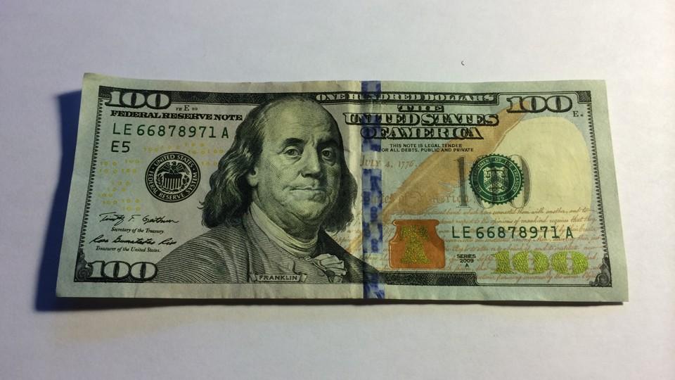 New 100 Dollar Bill