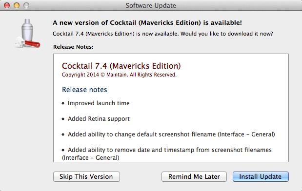 Cocktail Mavericks 7.4