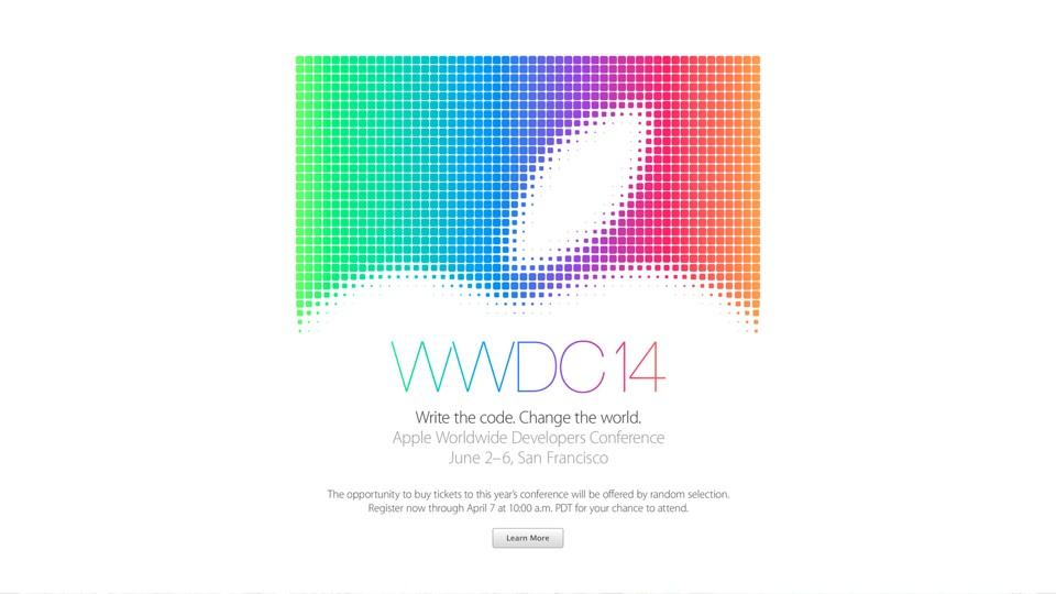 WWDC 14 June 2-6