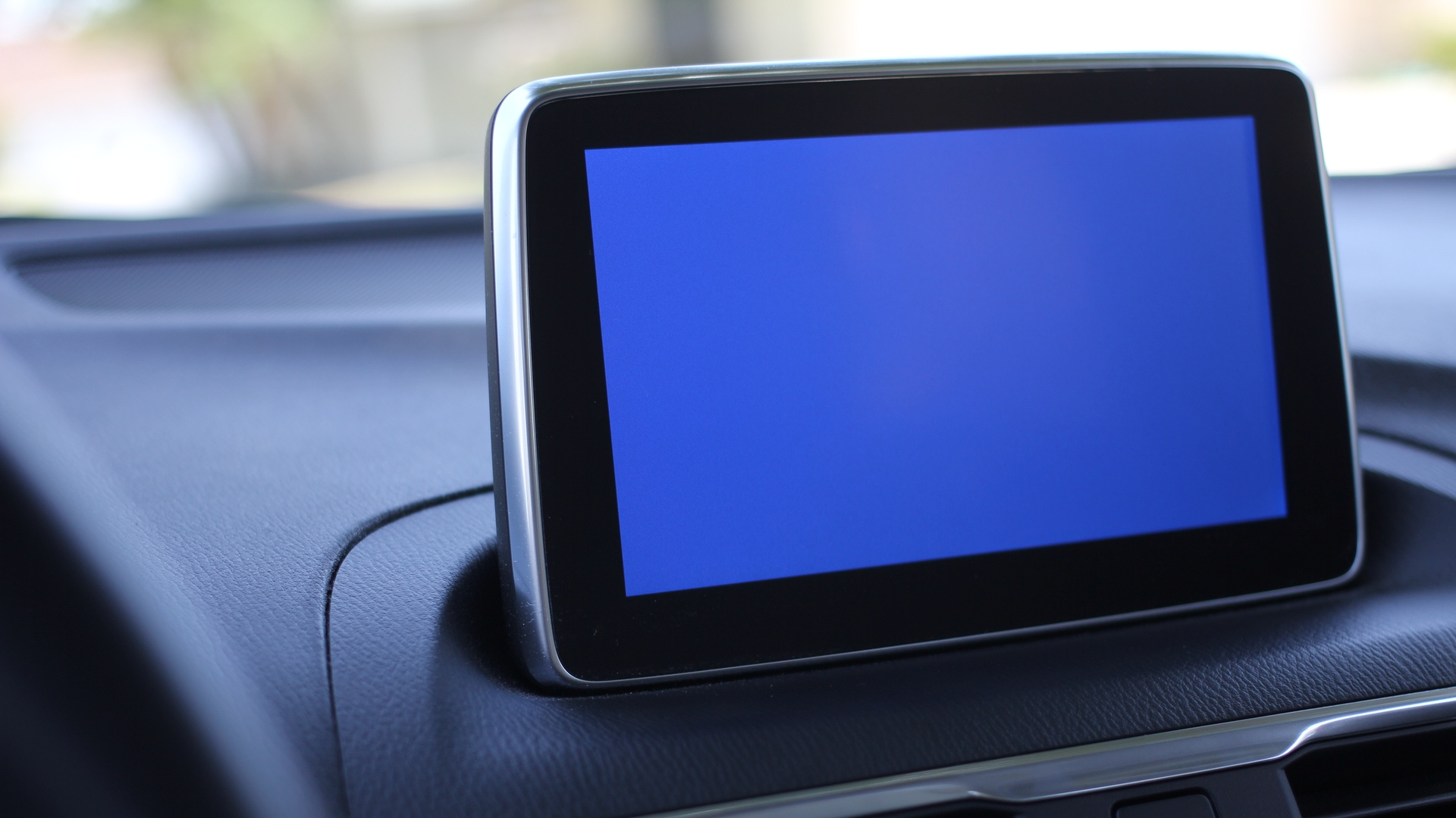 Mazda3 Infotainment Center Blue Screen
