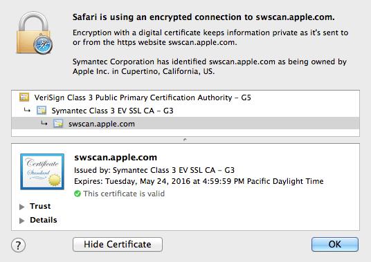swscan.apple.com new certificate 20140525