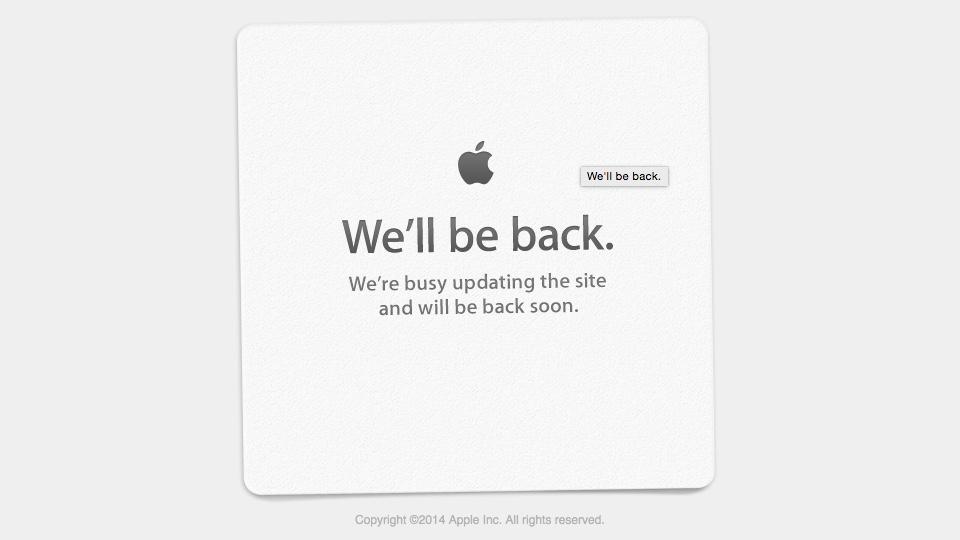 OS X Beta Program Offline for Maintenance