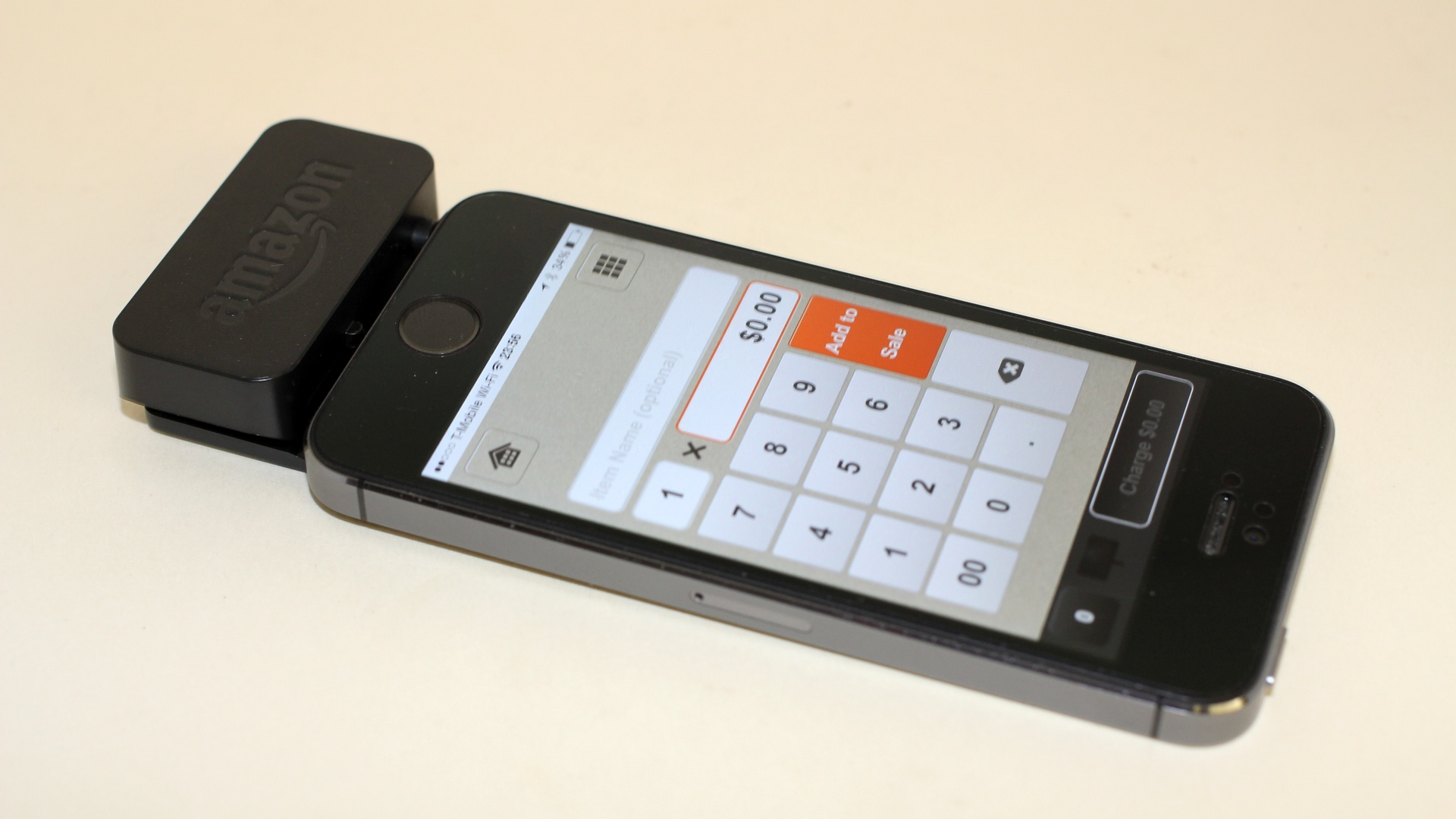 Amazon Secure Card Reader and iPhone 5s