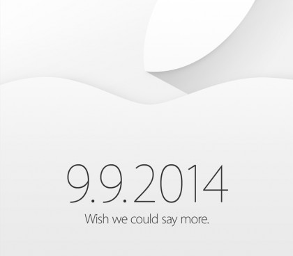 Apple Wish we could say more 2014-09-09