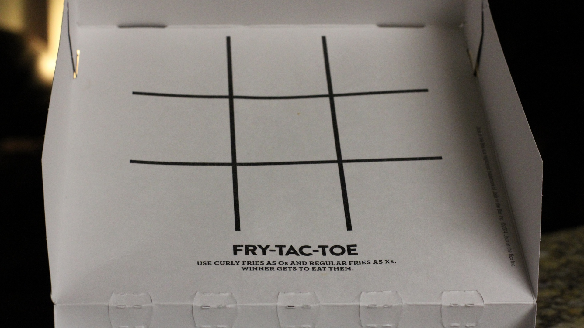 Fry-Tac-Toe