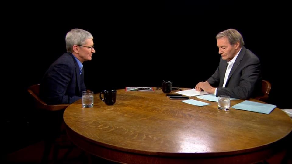 Tim Cook Interview on Charlie Rose