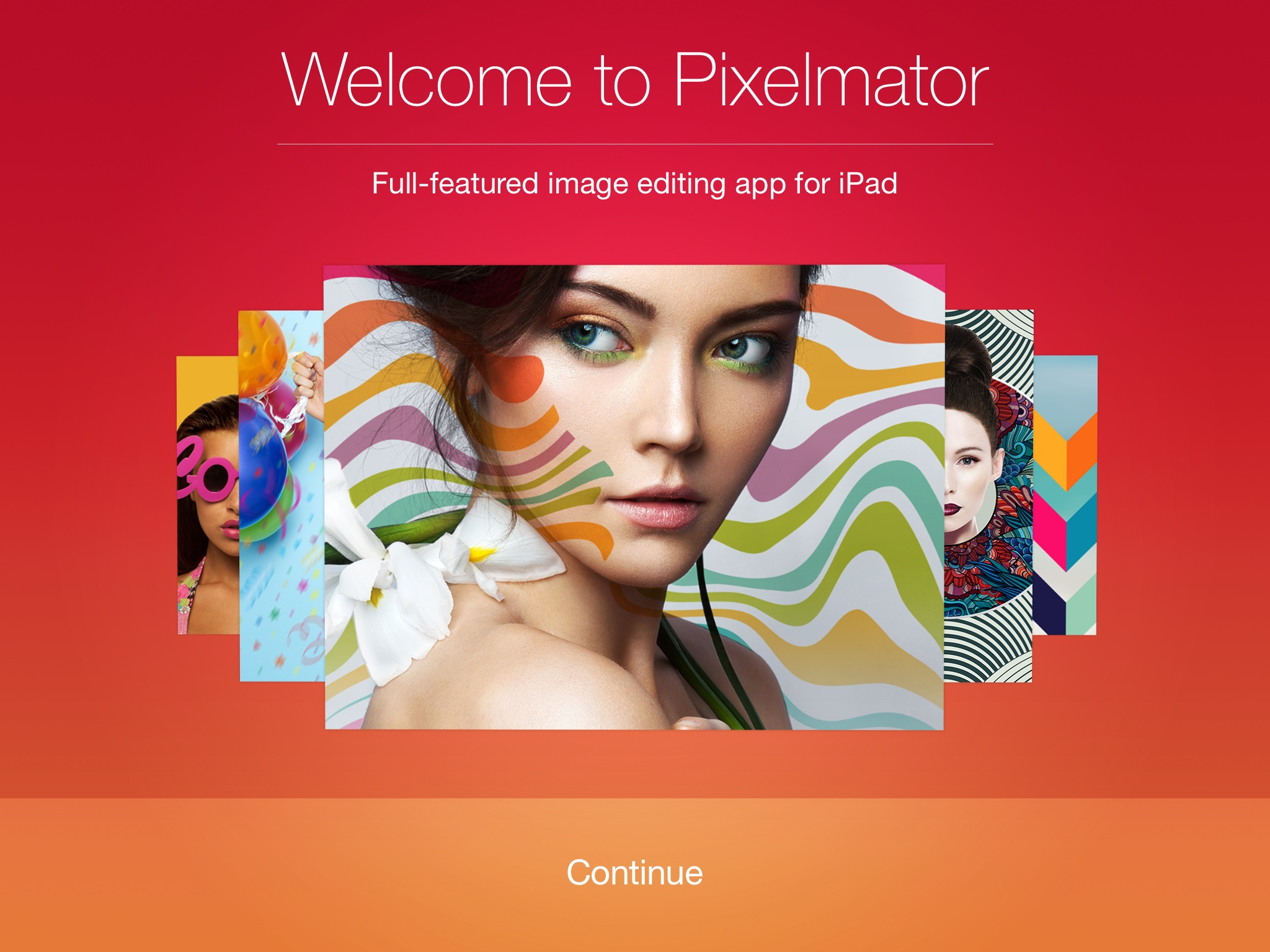 Welcome to Pixelmator for iPad
