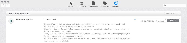 iTunes 12.0