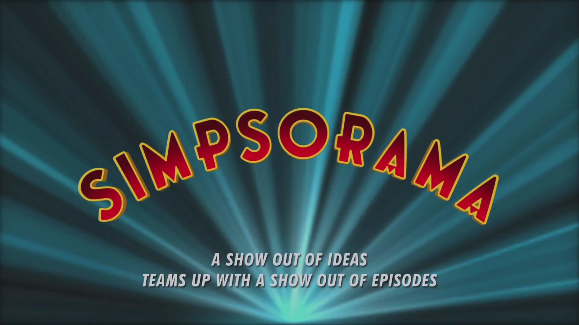 Simpsorama Title Card