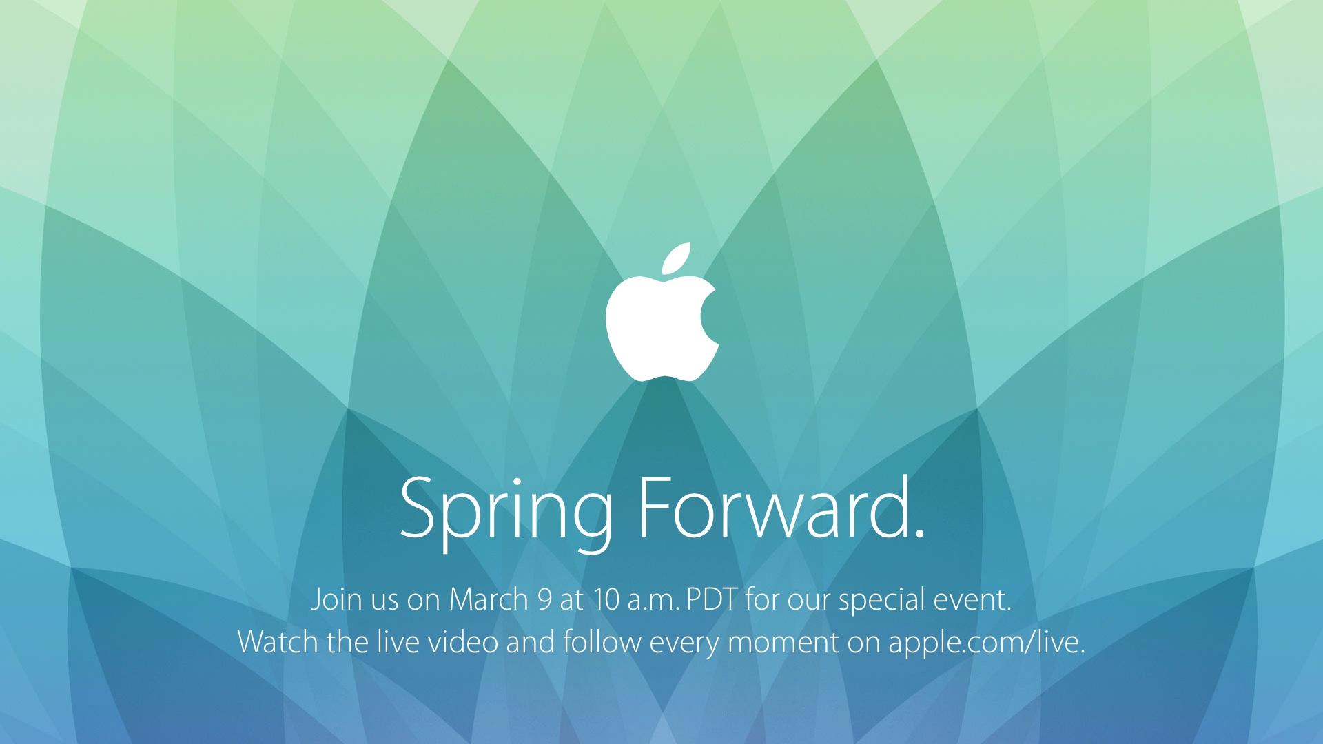 Apple March 2015 Spring Forward