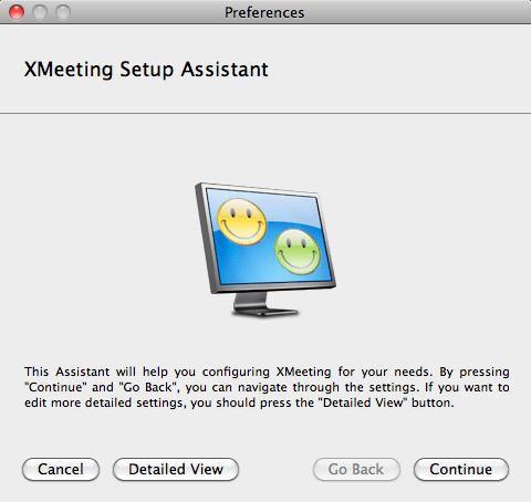 XMeeting - Setup