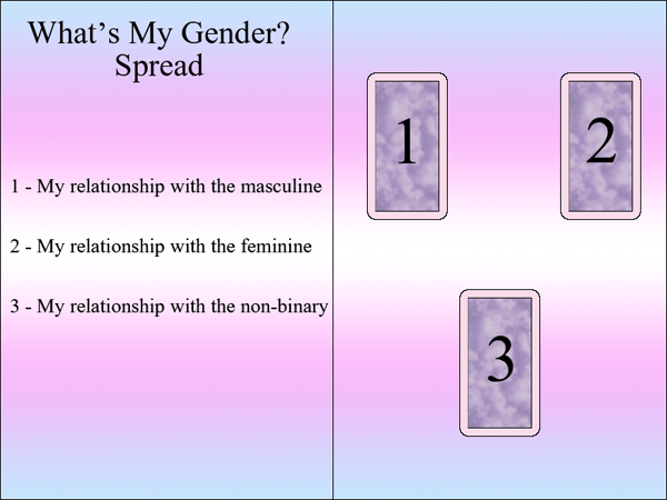 Tarot Spreads — For the Genders | Poppy Finch Crafts