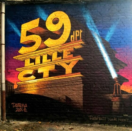 Notre nouveau mur peint : 59 Lille city