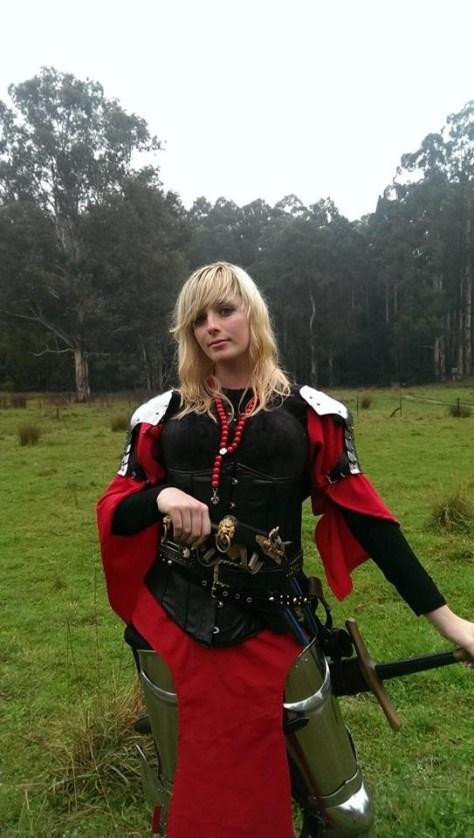 Australian Larp - Breton Warband - Swordcraft Australia