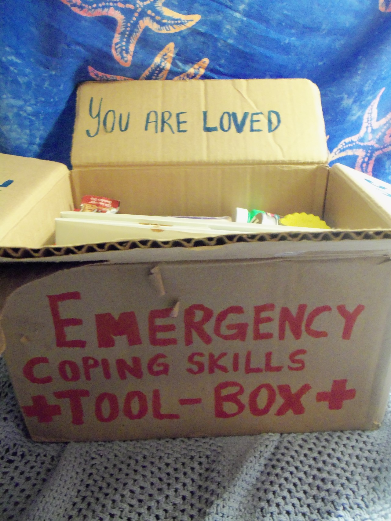 Greenzassocoollike Emergency Coping Skills Tool Box