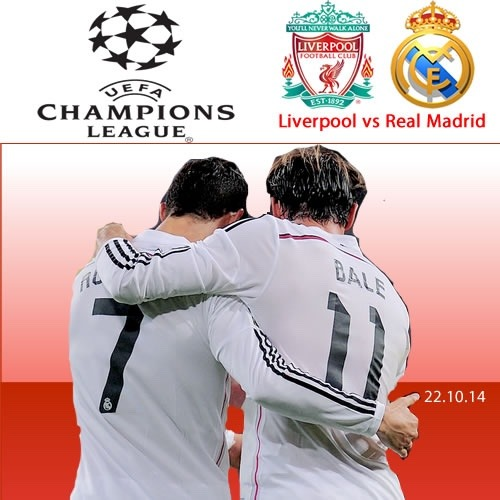 dannyesquivel: Liverpool vs Real Madrid