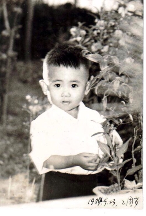 Han Han shared baby pictures