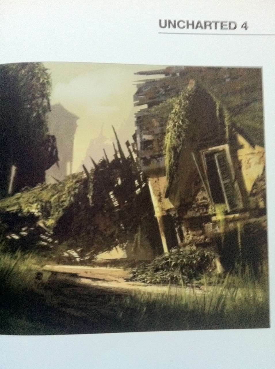 Uncharted 4: A Thief's End Concept Art Emerges 1