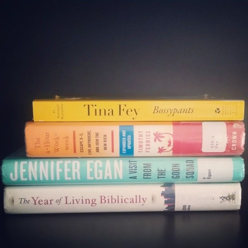 July Reads (still have some left in The Year of Living Biblically, but I started it in July so I'm counting it…)