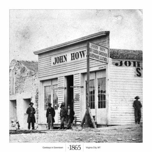 "Virginia City 1865<br /><br /><br /><br /><br /><br /><br /><br /> A major hub for Montana gold miners looking for their next ""Eureka"" moment."