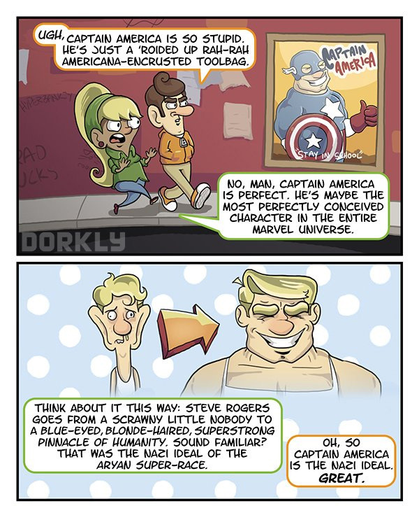 Captain America, fauxgressivism, progressivism, diversity in comics,