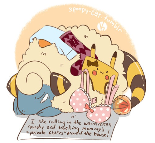 Funny Pokemon Cute Boredasgetout