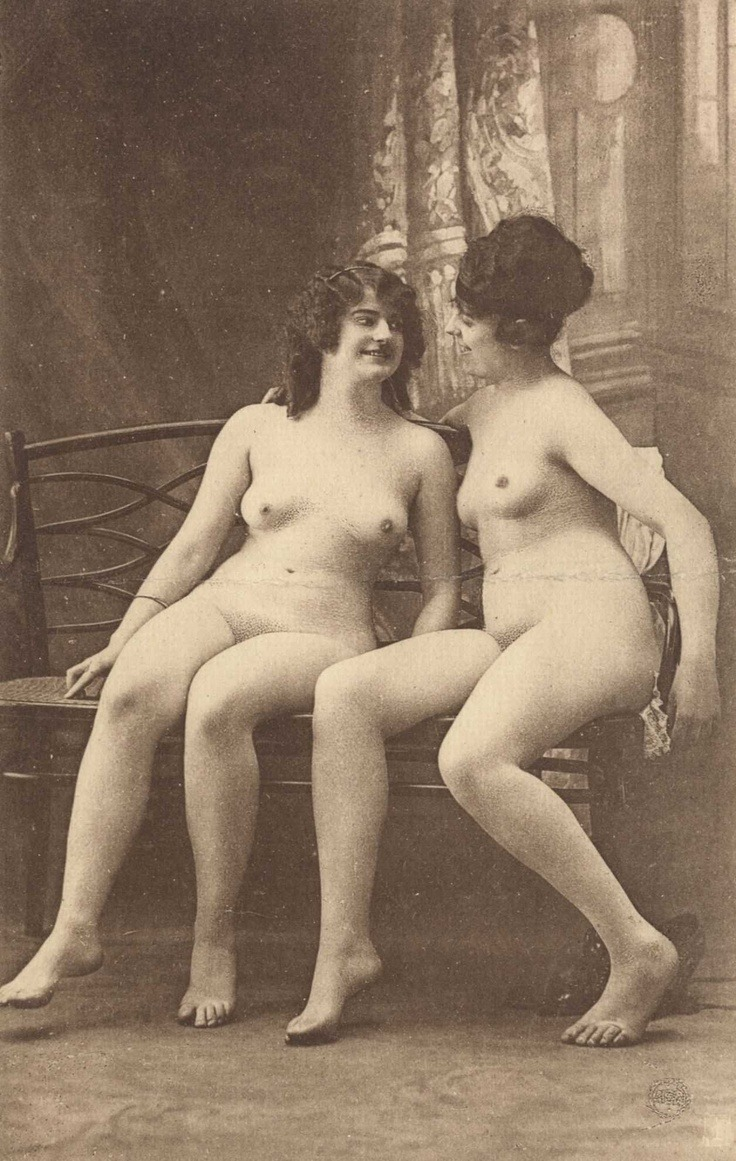I like to think this is the early stage of a lesbian seduction.