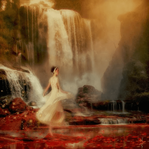 Xana, myth, folktale, story, woman, waterfall, red, white, fantasy, world, fairytale, reading, new read, must read, best read, blog, authorblog, blog series, YA, MG, mystery, adventure tale,