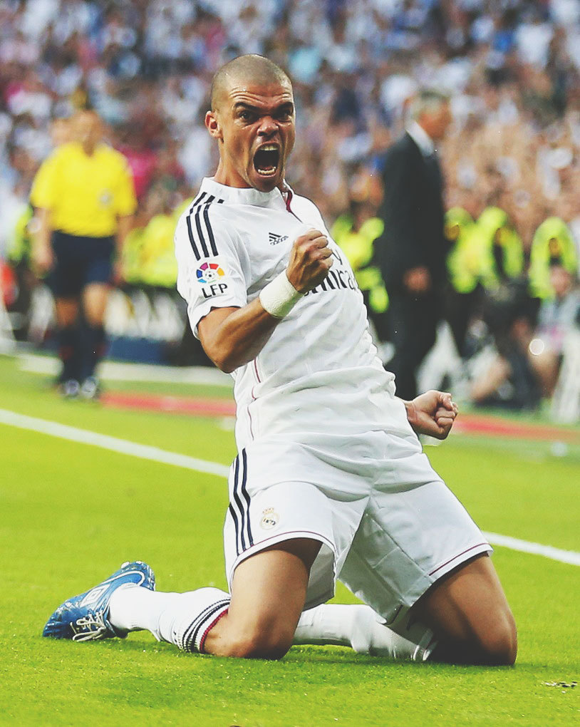 gjorgie: Pepe's Passion for Real Madrid is life..