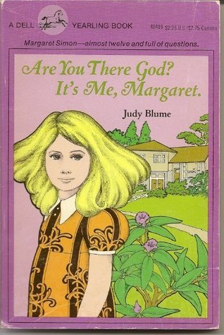 Vintage Book Cover: Are You There God? It's Me Margaret, Judy Blume