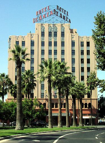 ... Anza, San Jose, California by Andrew Wood1930s hotel in San Jose