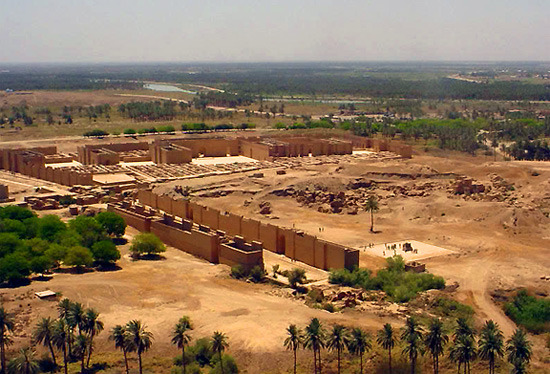 City of Babylon, Iraq.
