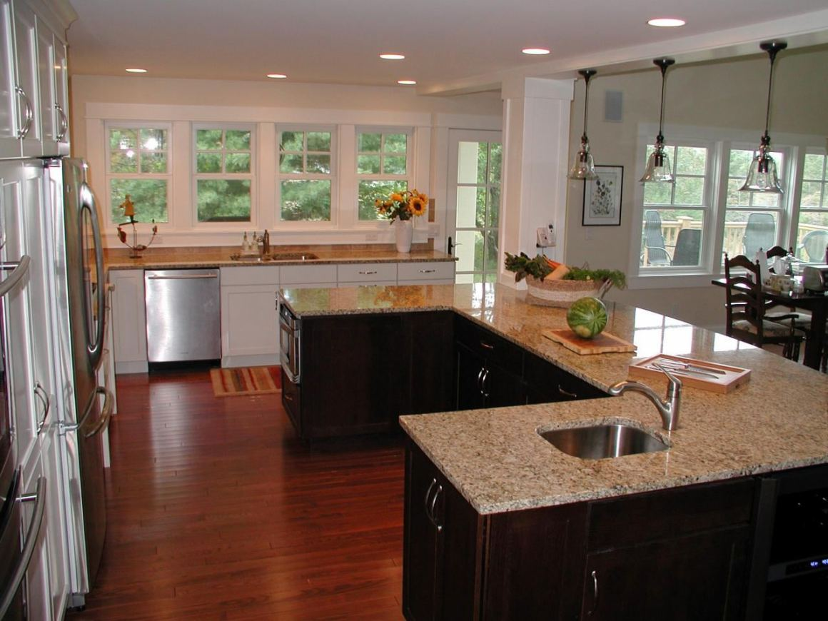 kitchen island designs & layouts - great lakes granite & marble