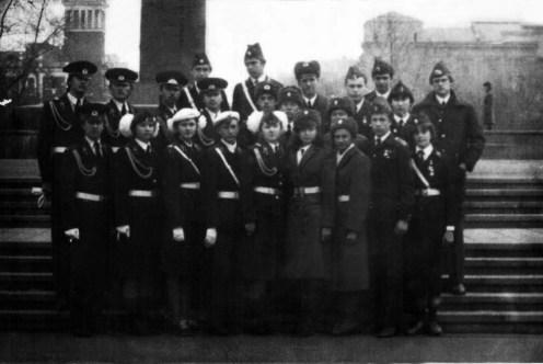 Красноярск - 1983 г. Делегации Томска, Иркутска, Павлодара, Алма-Аты
