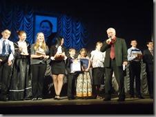 Иркутский поэт В.Скиф и участники концерта