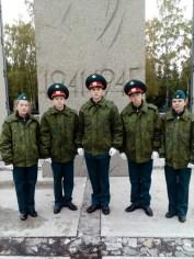 У Вечного огня в Новосибирске