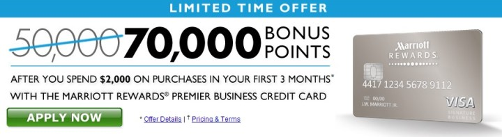Marriott rewards business credit card 70000 poemview 140 000 marriott bonus points with 2 credit cards miles reheart Gallery