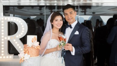 Ruco Chan Phoebe Sin Wedding Day