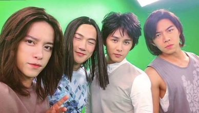 TVB's Life on the Line Bob Cheung Arnold Kwok Matthew Ho Joey Law Meteor Garden F4 Parody